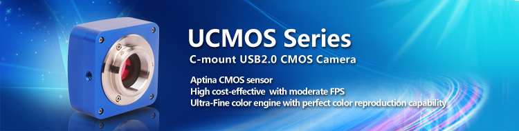 UCMOS Series C-Mount USB 2.0 CMOS Camera