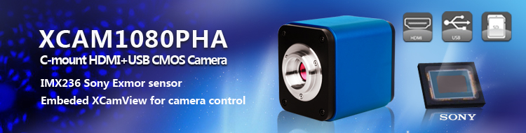 XCAM1080PHA C-mount HDMI CMOS Camera